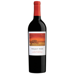 2013 Project Paso Lonely Oak Red Wine Blend